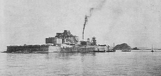 Hashima en 1930