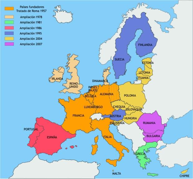 A Europa dos... cantos somos xa?