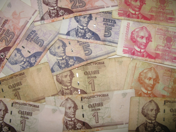Rublos de Transnistria