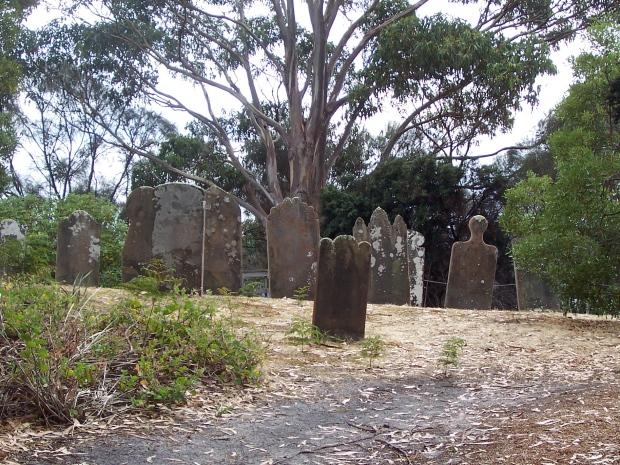 Gravestones_Isle_of_Dead_Tasmania_Port_Arthur